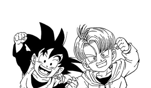 Goten And Trunks By Alfiov