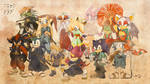 Feudal Japan Event - Final Collage