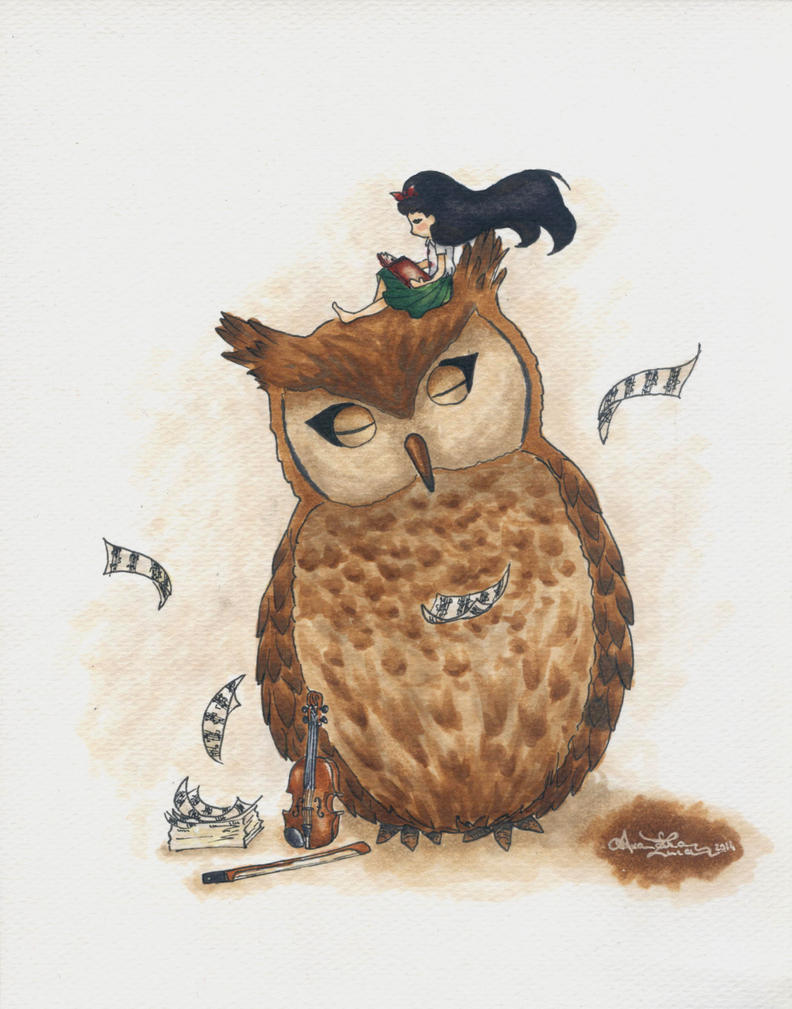 Simo and the Owl by bllueart