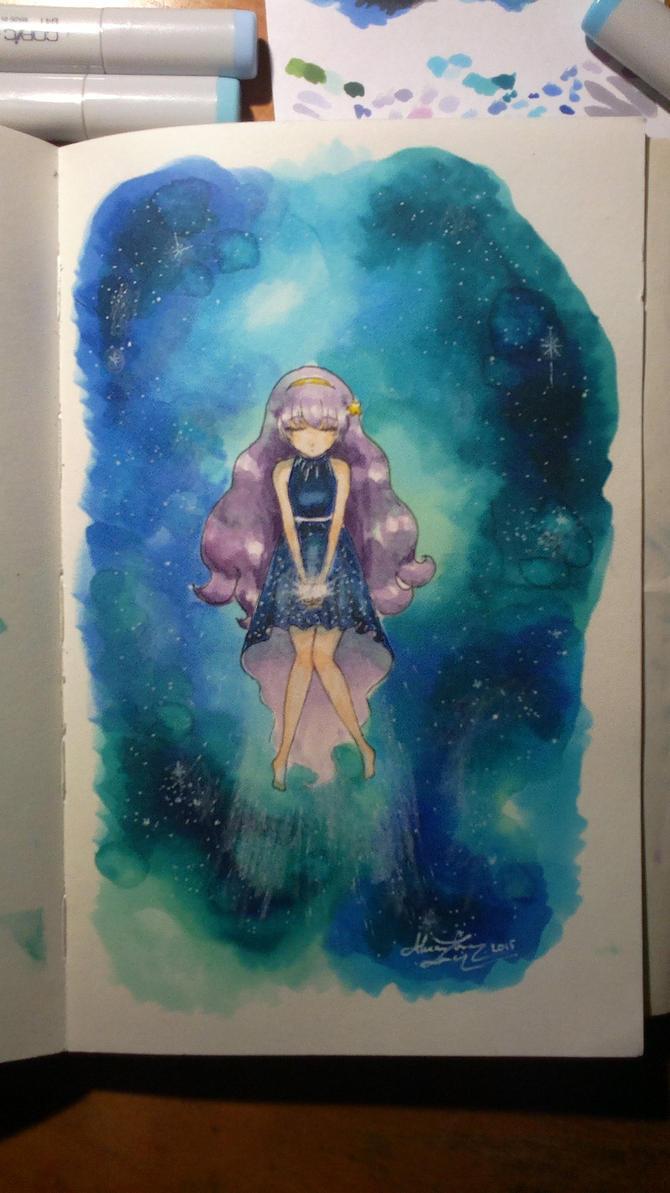 Star Traveller by bllueart