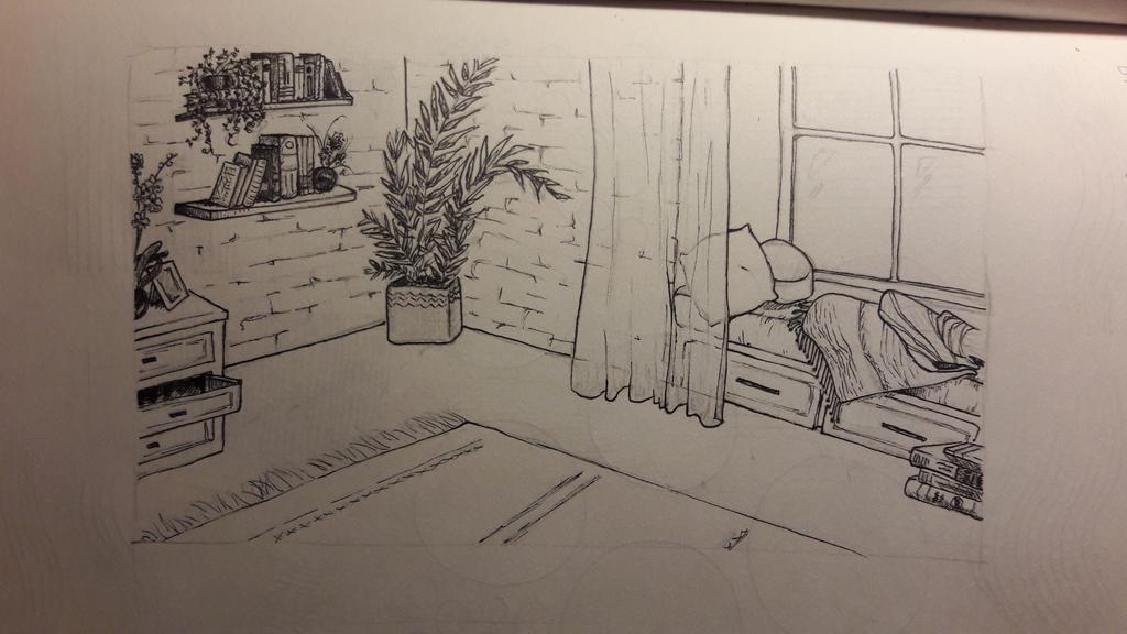 Cozy Corner by bllueart
