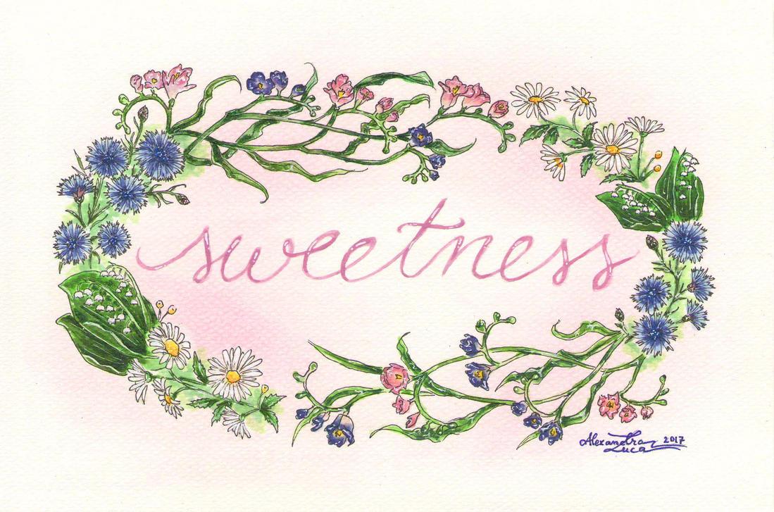 Sweetness by bllueart