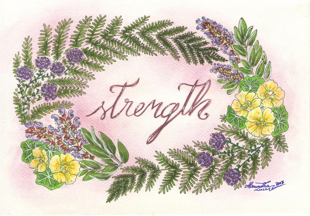 Strength by bllueart