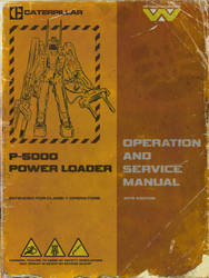 P-5000 Power Loader Manual Mockup