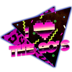 I Love The 80s (T-shirt design)