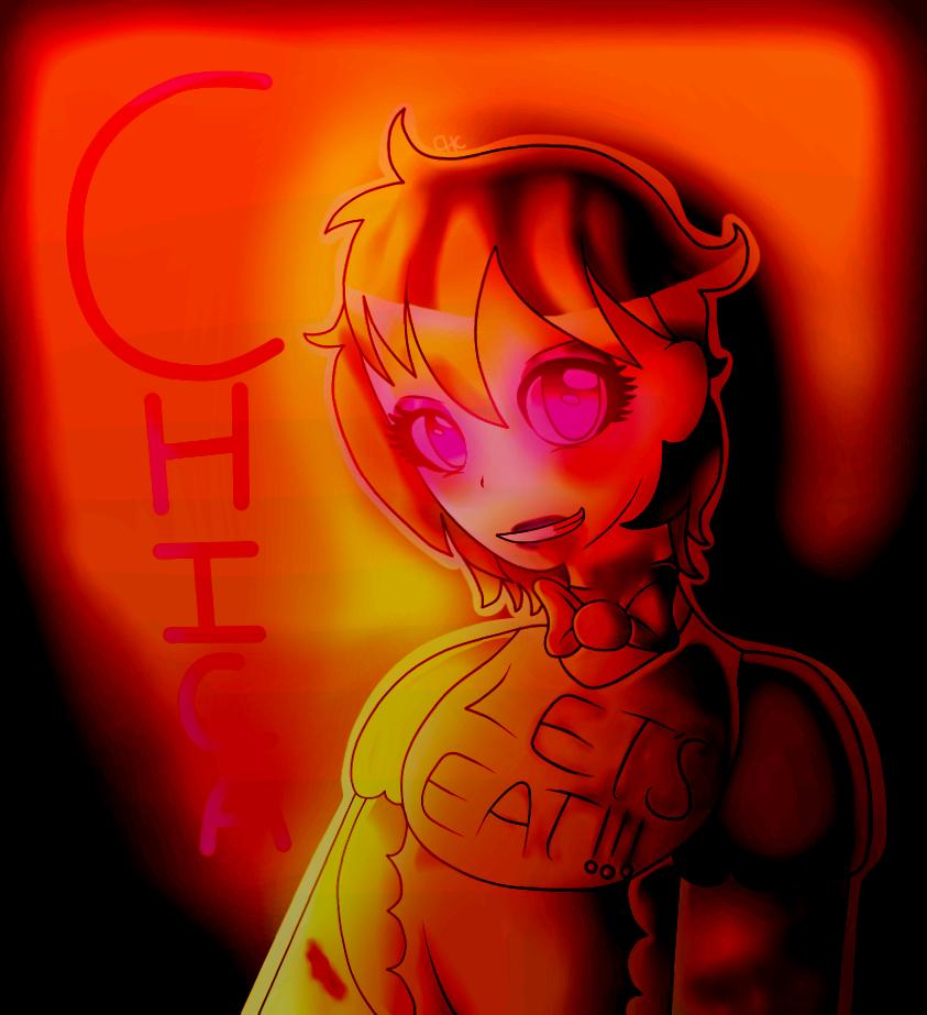 Fnaf Human Chica
