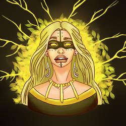 Gullveig, Goddess of Destruction by AspraFox