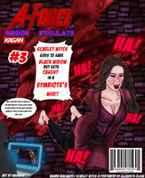 A-Force Mission:Stimulate - Scarlet Witch by KaganeTK