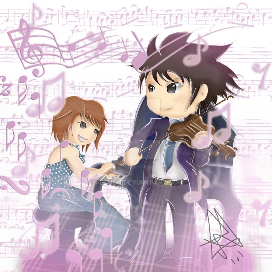 Noda Megumi 429846: Shinichi Chiaki E Megumi Noda (Nodame Cantabile) By Fezudu