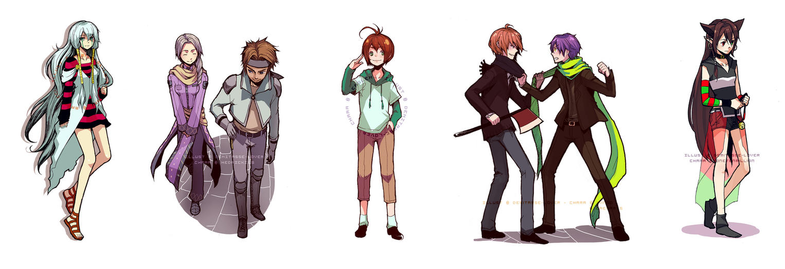 Charity Commission Batch 1 by demitasse-lover