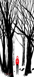a boy in the woods by demitasse-lover