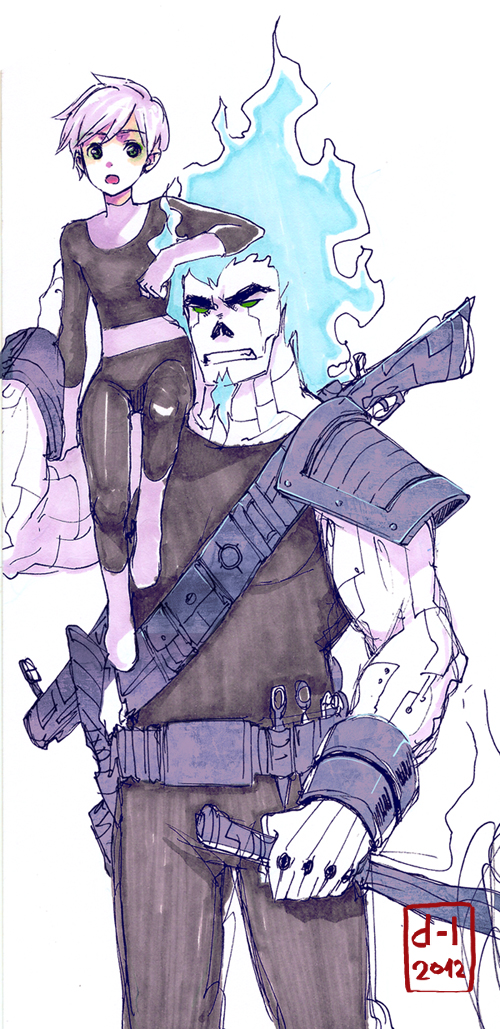 Danny and Skulker by demitasse-lover