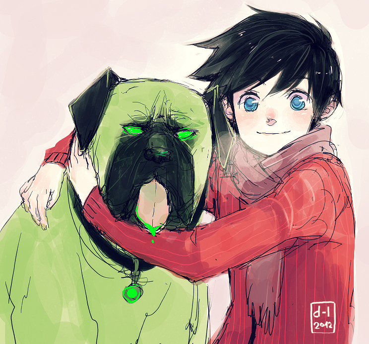 Cujo and Danny by demitasse-lover