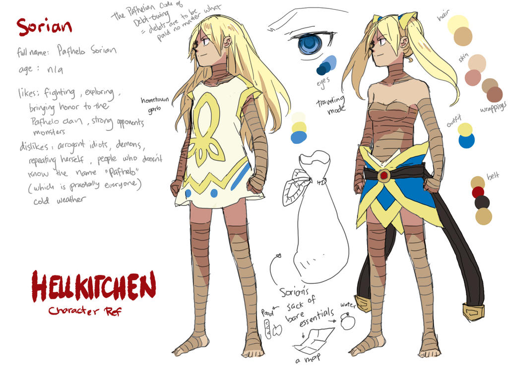 Sorian Character Sheet by demitasse-lover