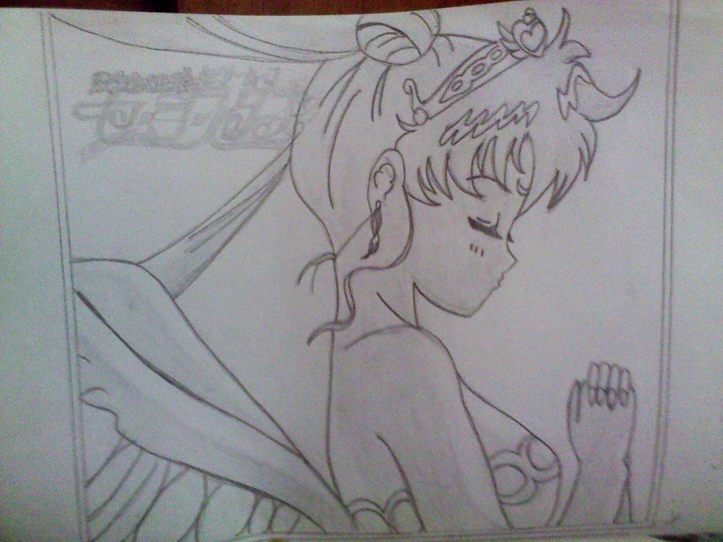 dibujo sailor moon by lew4 on DeviantArt