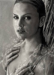 Charlize Theron by akaLilith