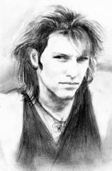 Jon Bon Jovi 93 - First sketch by akaLilith