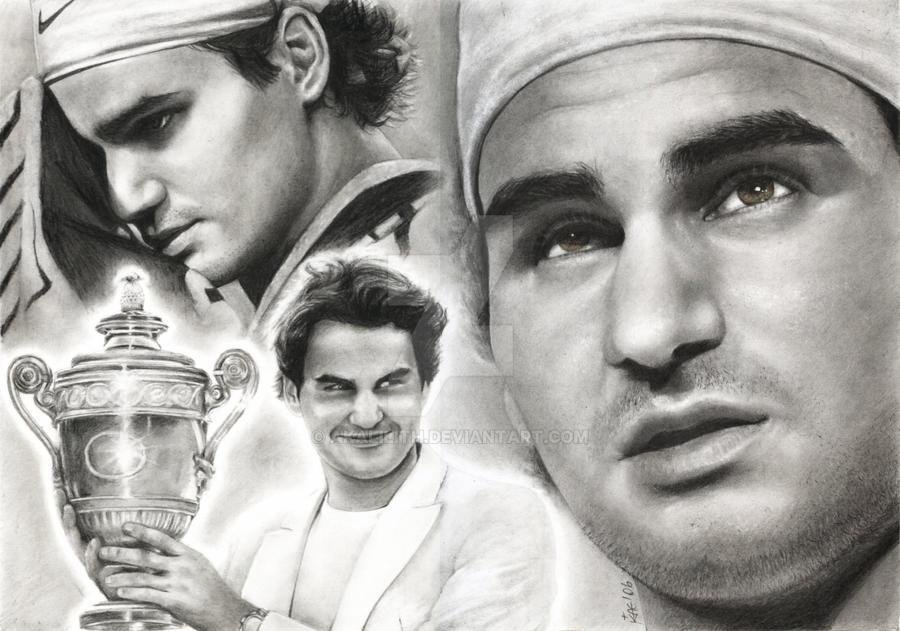 Roger Federer by akaLilith