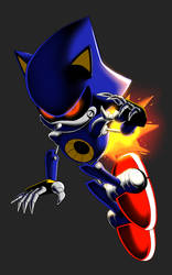 Classic Metal Sonic by Ravrous