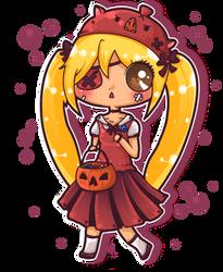 Belated Halloween Kiki :3 by Kiki-Myaki