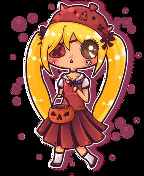 Belated Halloween Kiki :3
