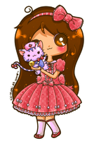 Commission - Princess-Peachie by Kiki-Myaki