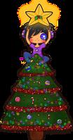 Secret Santa - +I'm the star+ by Kiki-Myaki