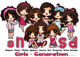 .:SNSD - Girl's Generation:. by Kiki-Myaki