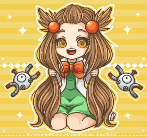 Pokemon - Gym Leader Jasmine by Kiki-Myaki