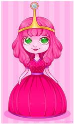 -Adventure Time - Young Princess Bubblegum by Kiki-Myaki