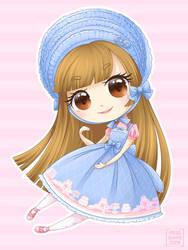 Angelic Pretty - Memorial Cake by Kiki-Myaki