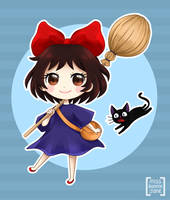 Studio Ghibli - Kiki's Delivery Service by Kiki-Myaki