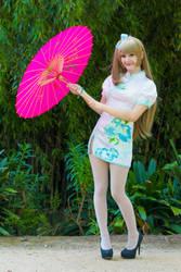 Love Live! - Kotori Minami [Qipao] Cosplay by Kiki-Myaki