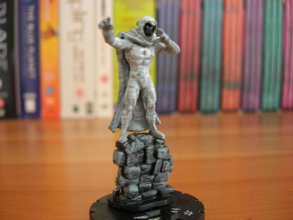 Heroclix Customs: Moon Knight by NeilR1