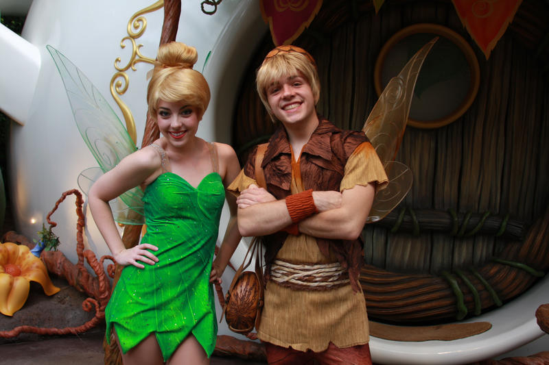 Are tinkerbell and terence dating