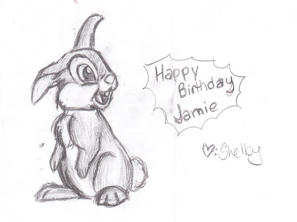 Happy Birthday Jamie by IZNMBCgirl