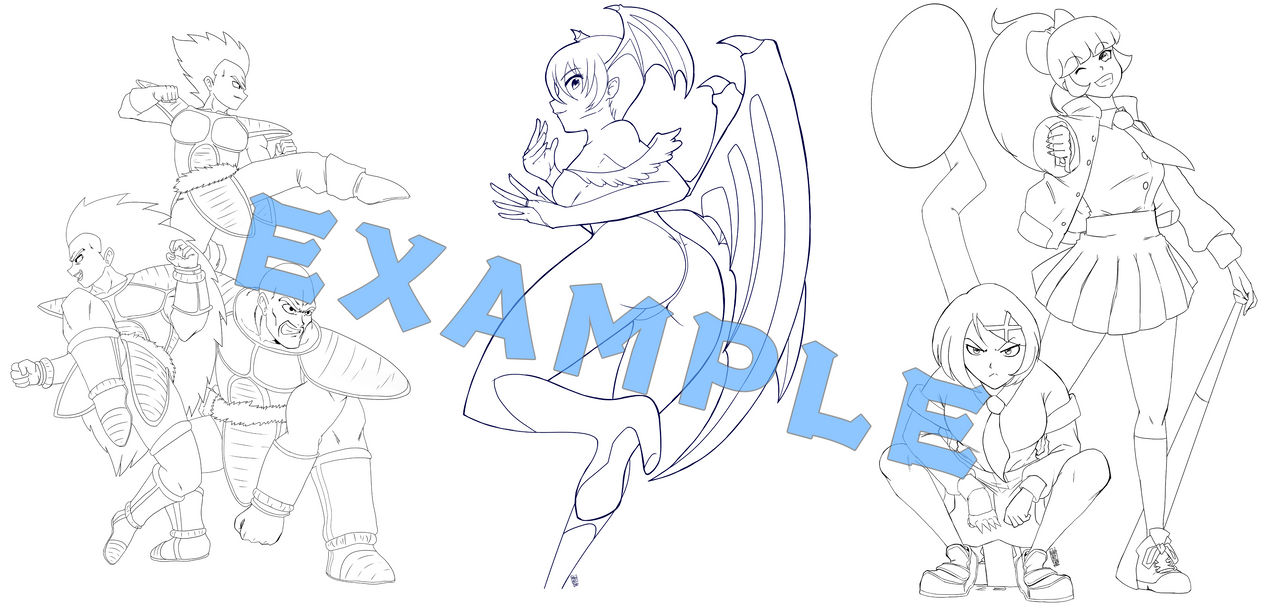 Example Lineart