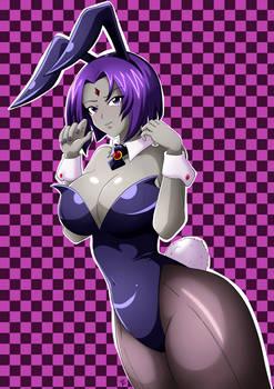 Fanart - Raven V.Bunny Girl