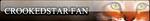 Crookedstar fan button by Pixelated--Coffee