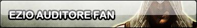 Ezio fan button by Pixelated--Coffee