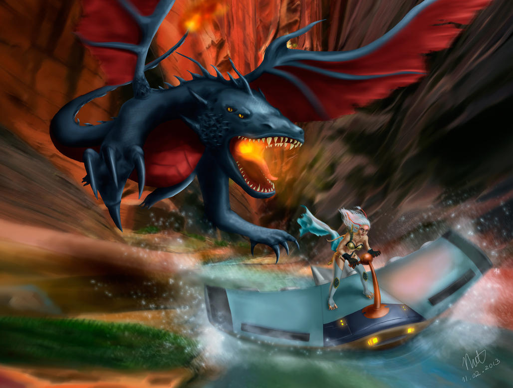 Dragon by pettitfraise