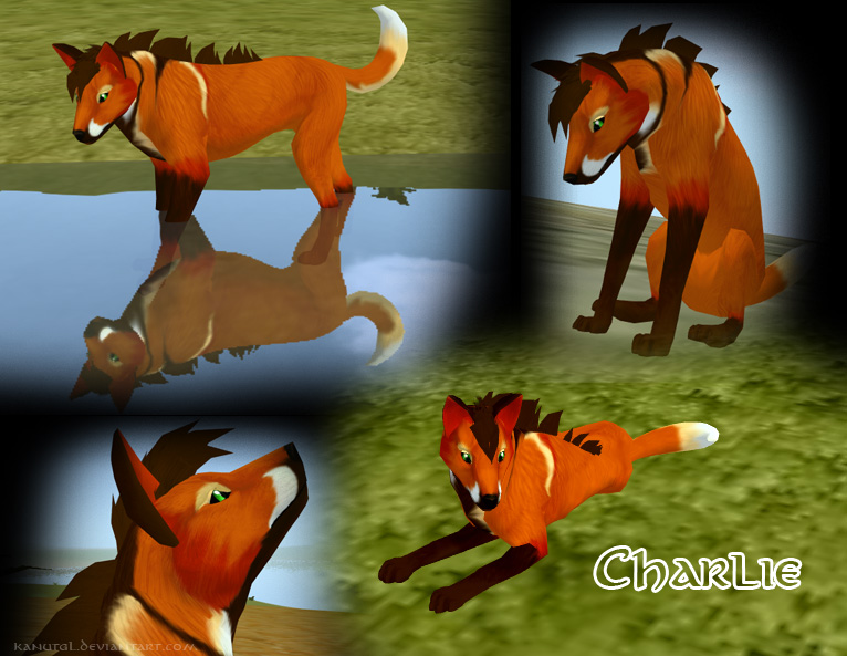 FeralHeart Charlie by KanuTGL
