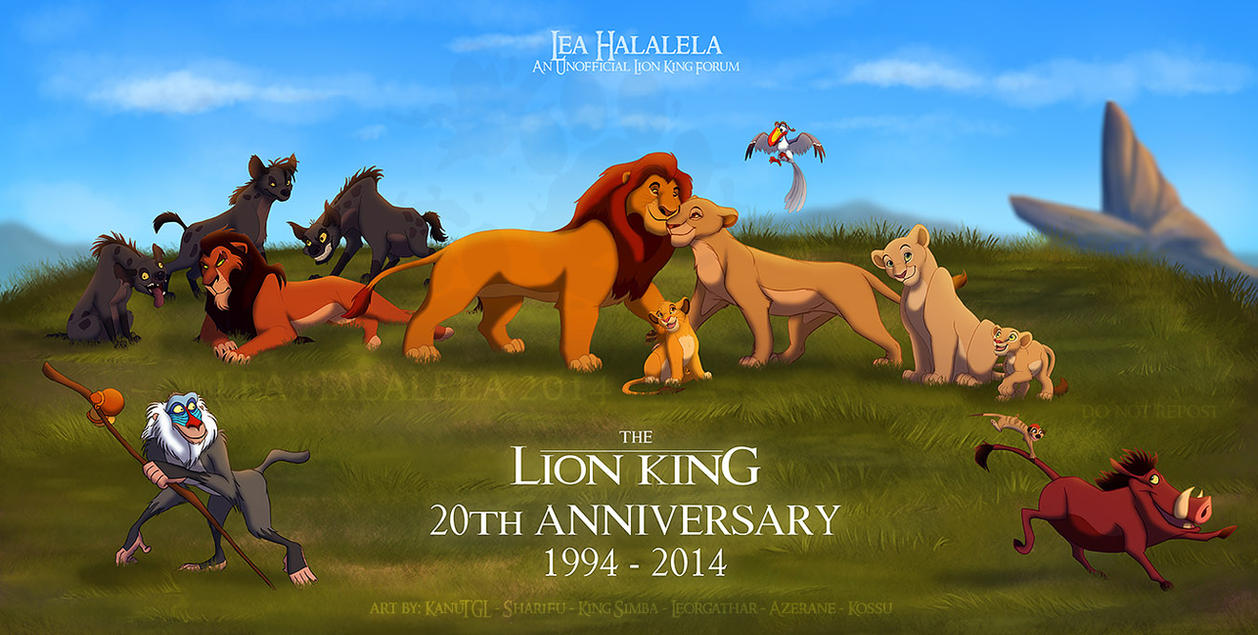 The Lion King 20th Anniversary Collab by KanuTGL on DeviantArt | 1257 x 635 jpeg 186kB