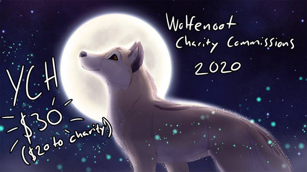 Wolfenoot 2020 - Charity YCH!