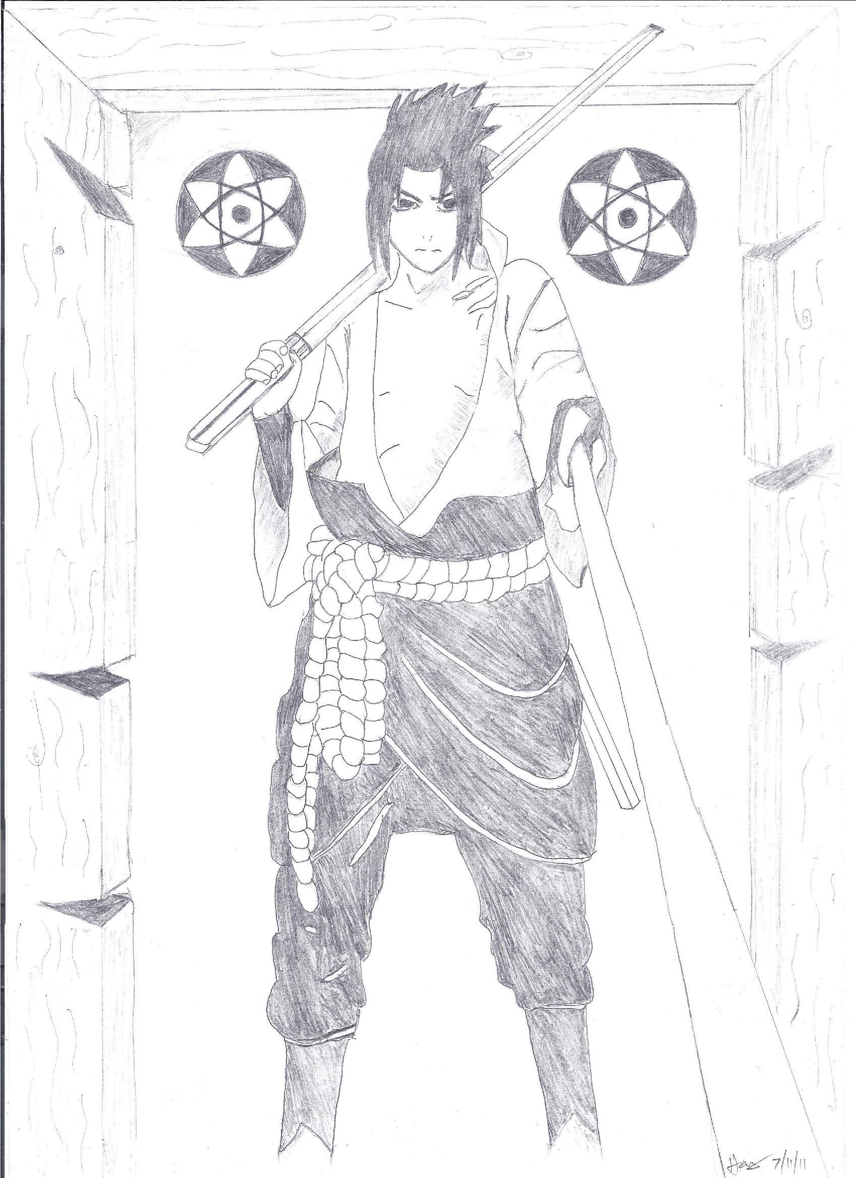 Sasuke by hahaha37 on deviantart
