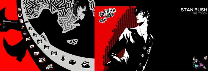 My Persona 5 themed desktop