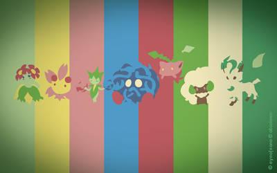 Pokemon Spectrum - Grass by EYEofXANA