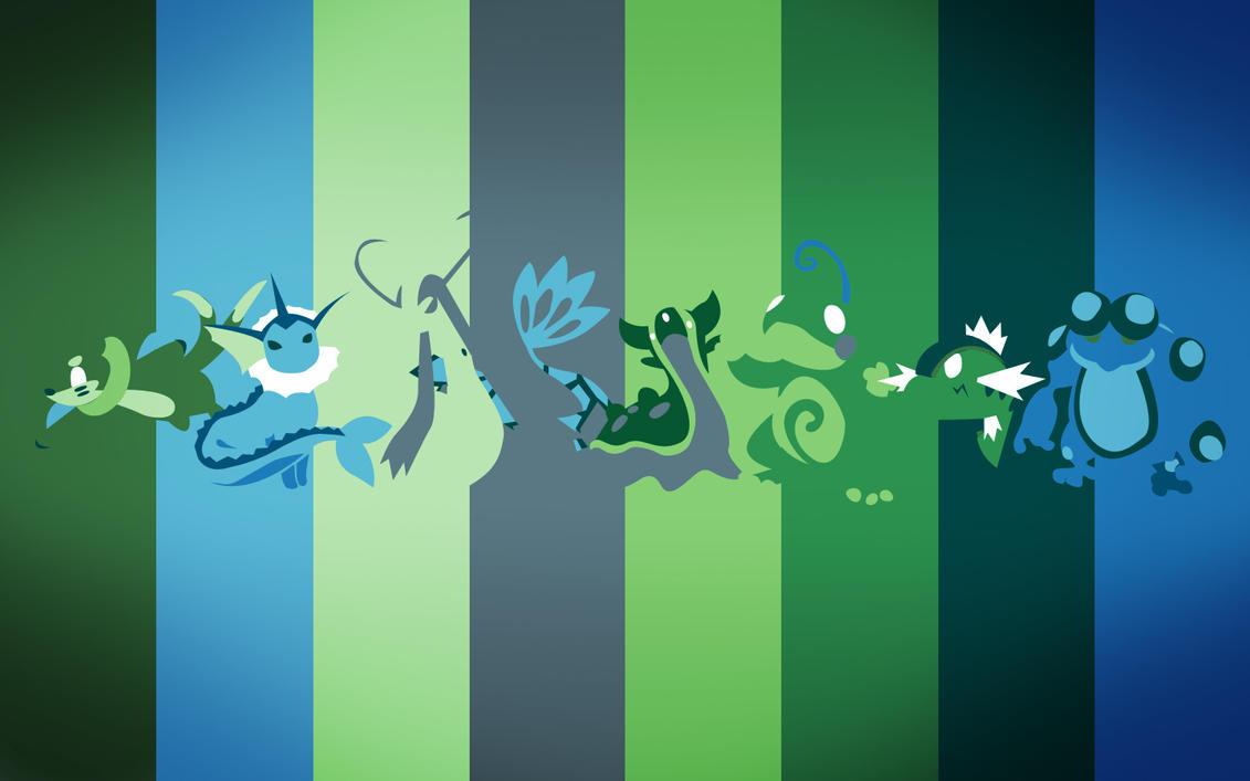 Pokemon Spectrum - Underwater by EYEofXANA