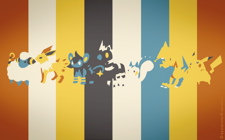 All Electric Type Pokemon Pokemon Spectrum Electric