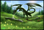 Dragon and Fairy friends